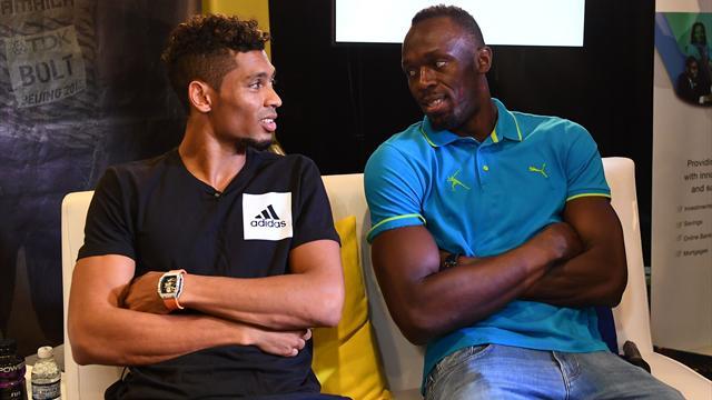 """Bolt : """"Au top de ma carrière, Van Niekerk n'aurait eu aucune chance contre moi"""""""