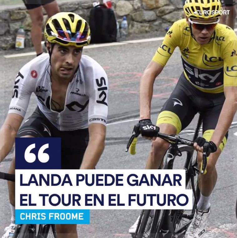 Chris Froome - Mikel Landa - Quote