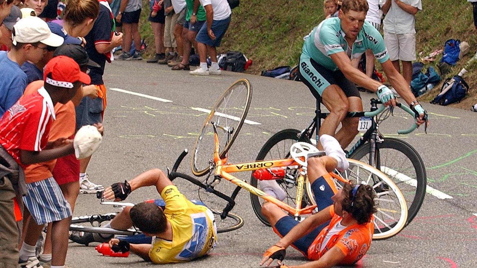 Sturz Tour De France
