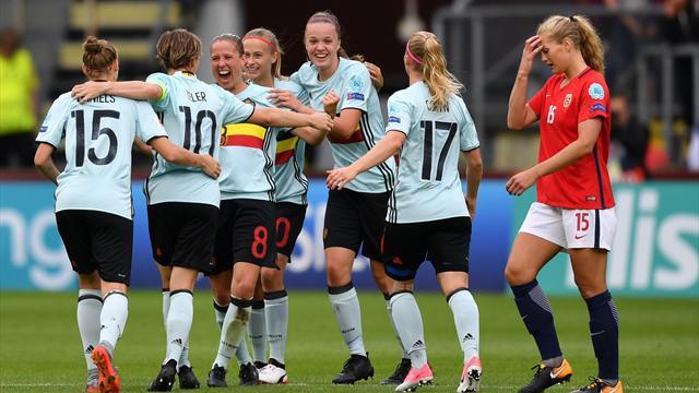 La Belgique se relance, la Norvège au plus mal