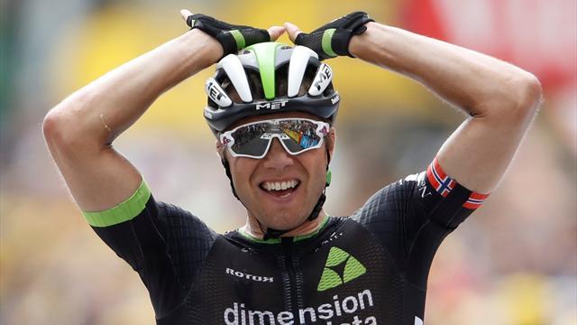 Sykkelstjerne hyller Boasson Hagen: – Jeg gråter. Du er en helt
