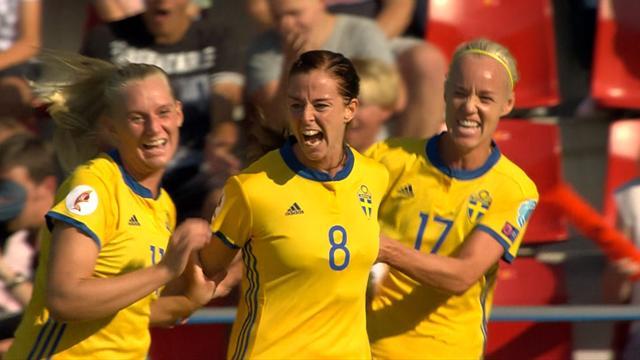 La Suède en roue libre face à la Russie