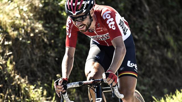 Tour de Francia 2017: El tremendo enfado de Thomas De Gendt por no ganar el premio al más combativo