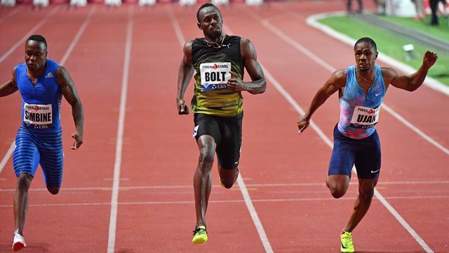 """Sans forcer, Bolt descend sous les 10"""" pour la 50e fois"""