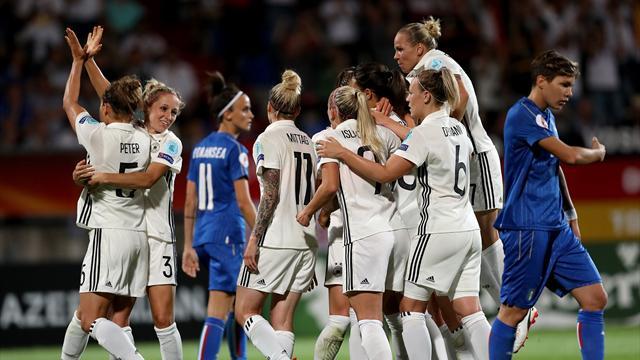 L'Allemagne élimine l'Italie