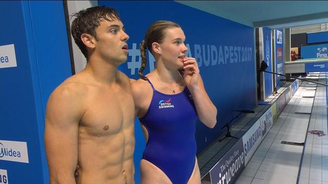 Silver for Tom Daley and Grace Reid at World Champs