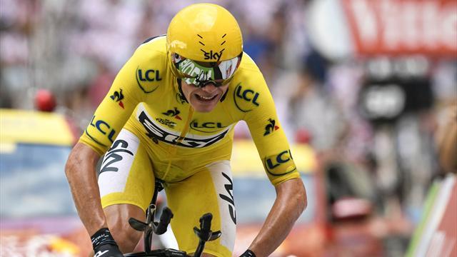 Froome empieza a ganar su quinto Tour con Castroviejo y De la Cruz