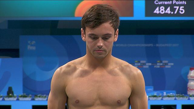 Watch: Tom Daley wins World Championship gold