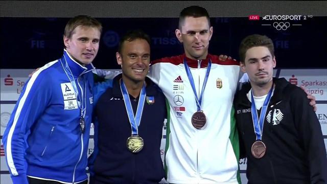 Mondiali: è bronzo per la squadra azzurra di sciabola maschile