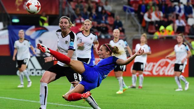 La France a réagi mais ça n'a pas suffi : les temps forts du match en vidéo