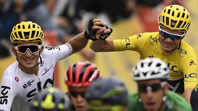 Christopher Froome s'apprête à remporter la compétition — Tour de France