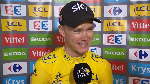 """""""Amazing!"""" Froome blown away by Tour success"""