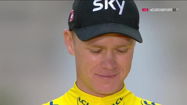 Chris Froome's victory speech