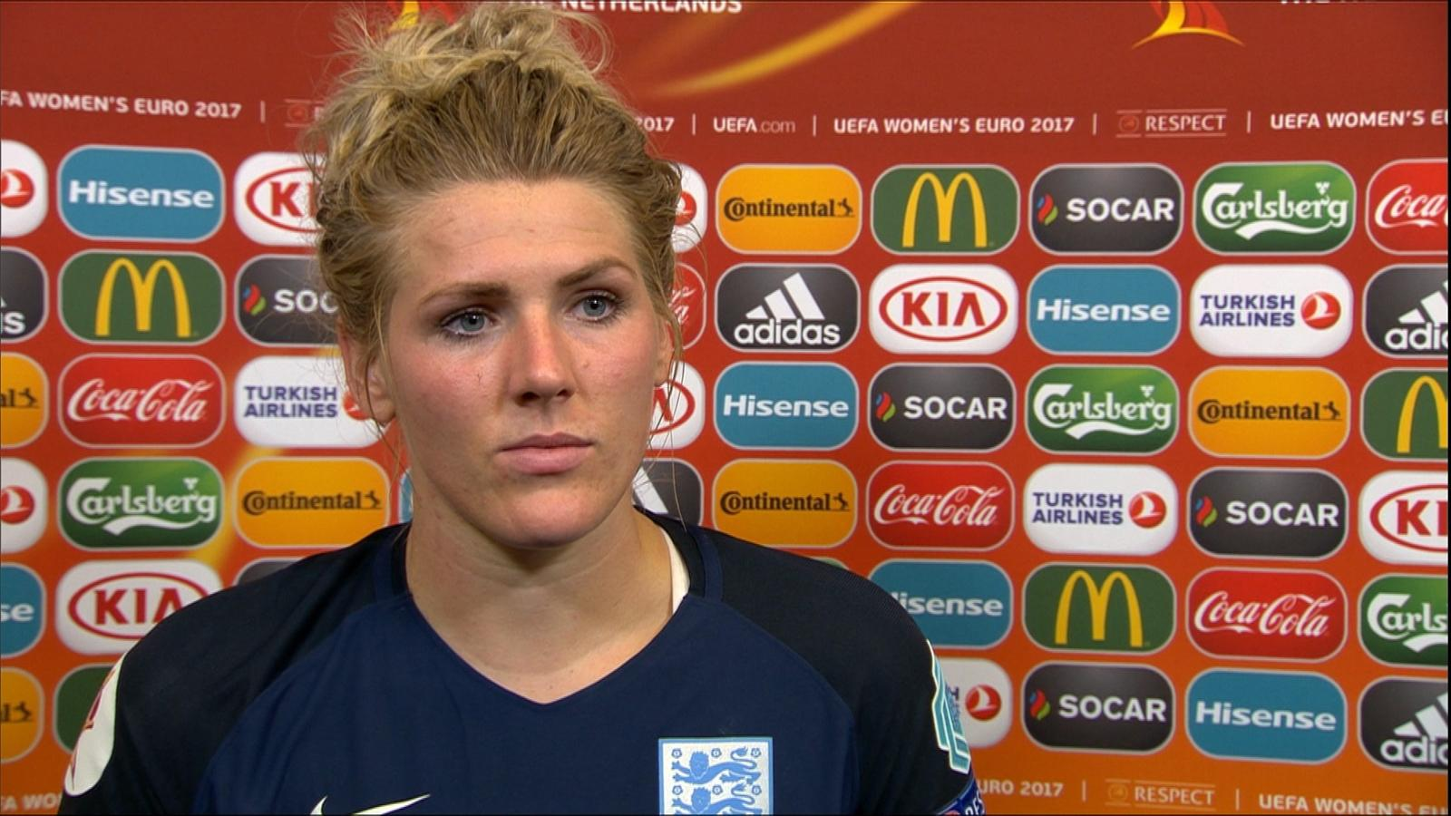 VIDEO - Millie Bright: I would have loved my goal to have stood - UEFA Women's Championship ...