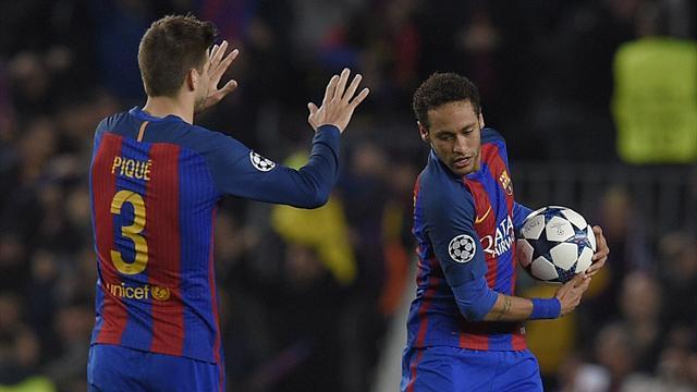 Pique on Neymar tweet - I knew he was going