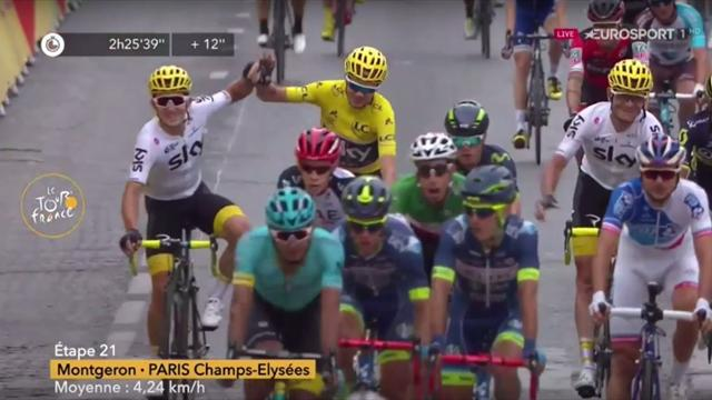 Froome's Tour: How the race was won