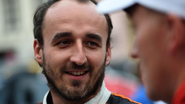 Willams confirme les tests de Kubica et Sirotkin