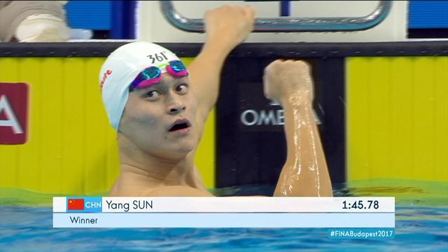 Guy qualifies for 200m freestyle final