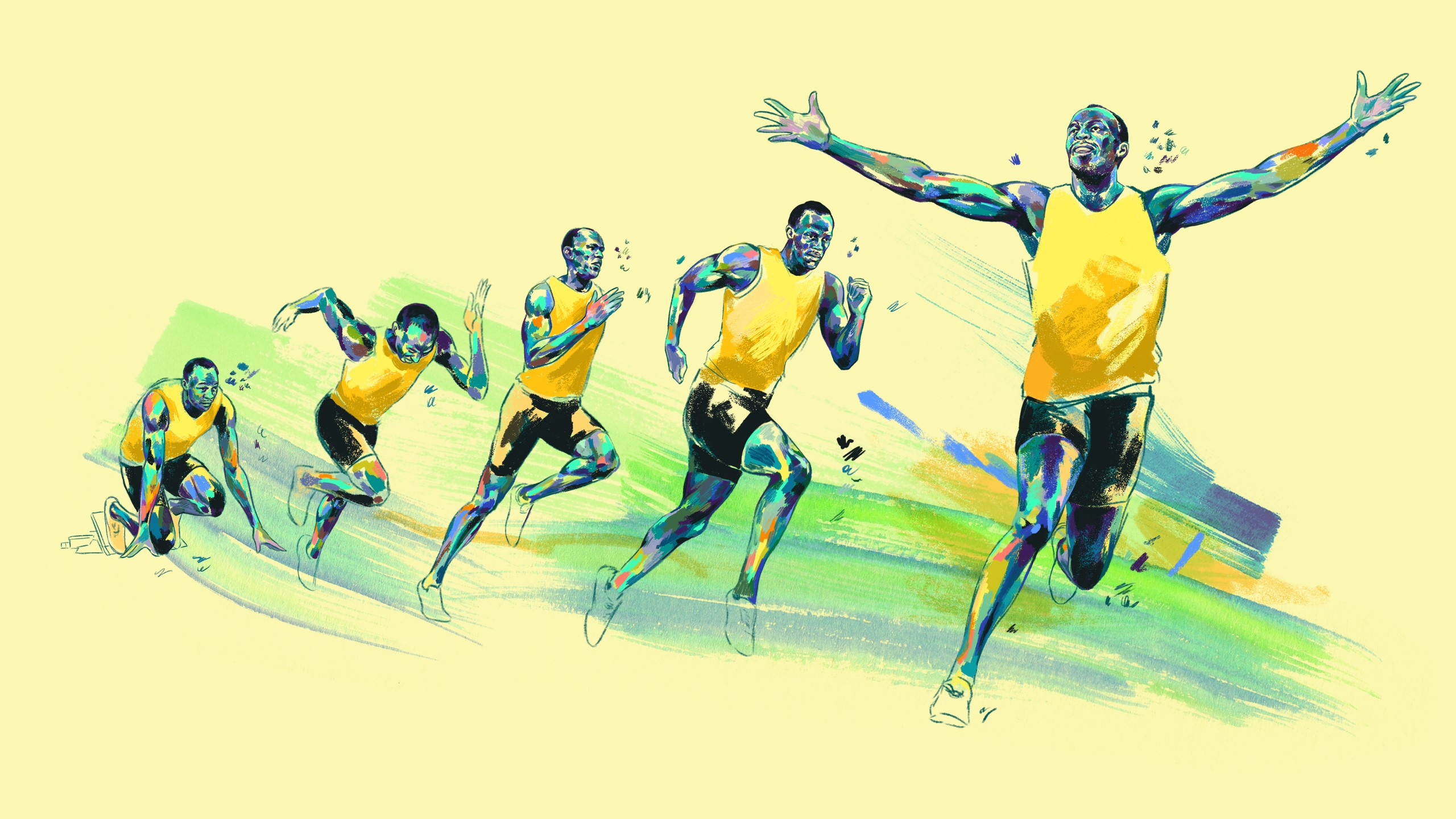 Usain Bolt and the stages of sprinting - Allegra Lockstadt