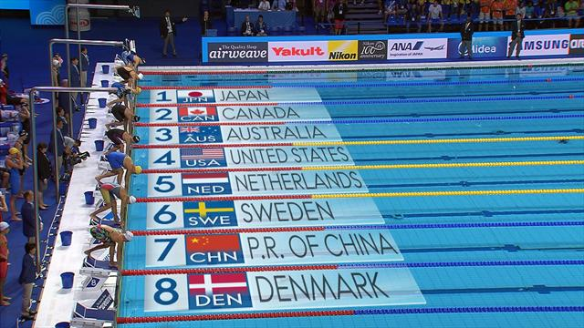Sjostrom smashes 100m FR world record in relay lead-off