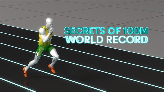 Sports Explainer : Les secrets du record du monde d'Usain Bolt sur 100m