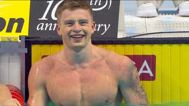 Peaty smashes his own world record in men's 50m breaststroke