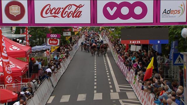 Tour de Valonia: Jempy Drucker, el más fuerte al esprint en la cuarta etapa