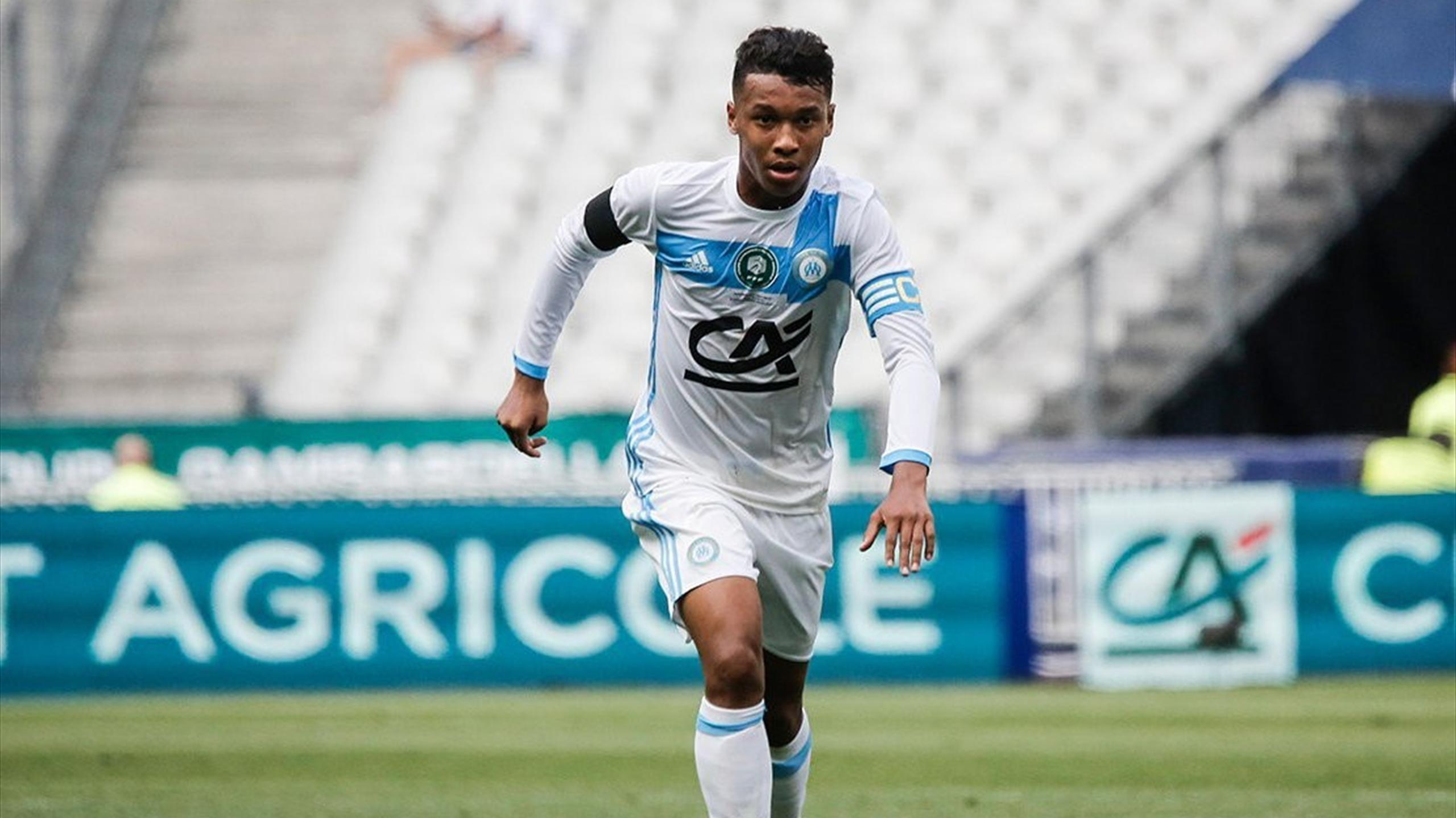Maillot Extérieur Olympique de Marseille Boubacar KAMARA