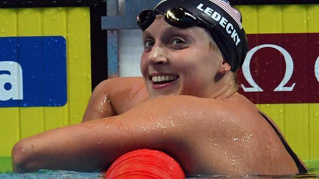 US-Schwimmstar Ledecky pulverisiert 1500-m-Weltrekord