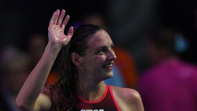 Une quatrième médaille d'or pour Hosszu, titrée sur 400m 4 nages