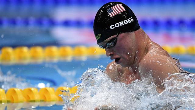 United States break world record in mixed relay