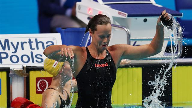 Pellegrini in seventh heaven, Detti wins first gold