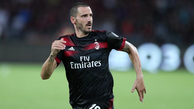 Milan, Bonucci è il capitano: si blocca però Biglia, possibile stiramento