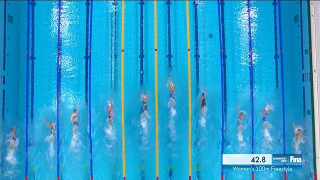 Sjostrom eases into women's 100m freestyle semis