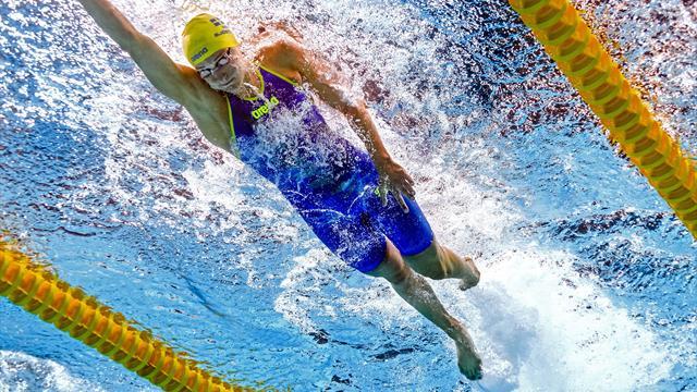 Sjostrom eases into 100m freestyle semis as Murdoch impresses in men's 200m breaststroke heats