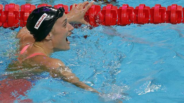 Mireia Belmonte bate el récord mundial de 400 estilos con otro oro en la Copa del Mundo