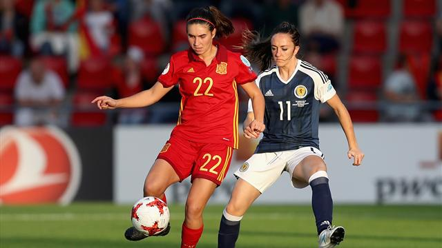 VÍDEO: España pierde contra Escocia pero se clasifica para cuartos de final (1-0)