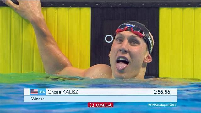 Chase Kalis dominates 200 metres individual medley