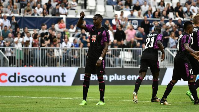 Sankharé permet à Bordeaux de virer en tête