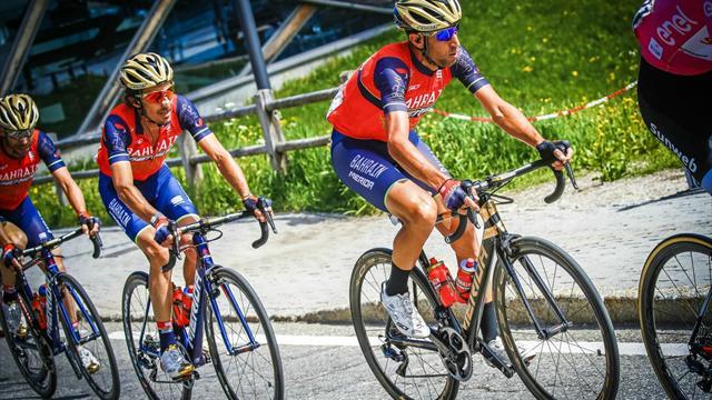 Nibali geriden gelip etap zaferine uzandı