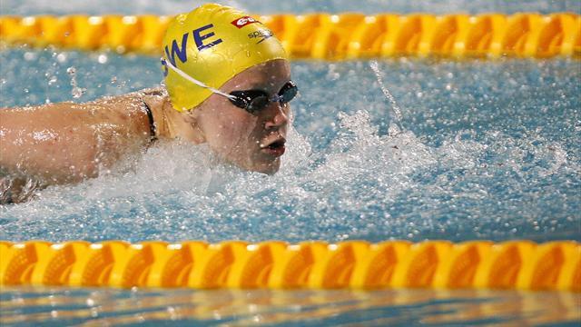 Sjöström battue par Manuel en finale du 100m nage libre