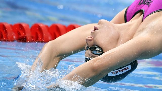 Graf scheitert im Halbfinale über 200 m Rücken