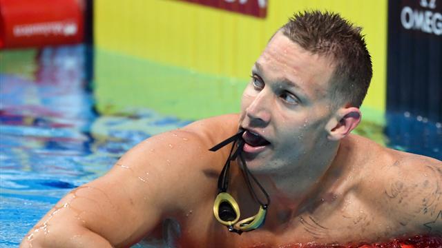 Les Américains titrés sur 4x100 m 4 nages