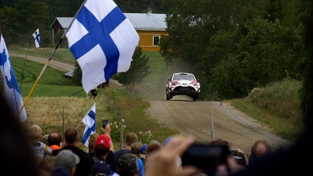 Пилоты Ford Stobart заняли весь пьедестал на втором этапе Ралли Финляндии