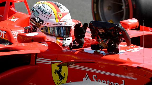 Macaristan'da pole pozisyonu Vettel'in