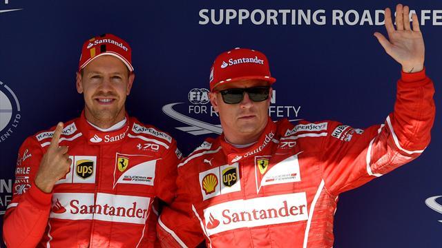 Dopo 12 anni Ferrari in pole in Ungheria. Vettel davanti a Raikkonen, Bottas 3° davanti a Hamilton