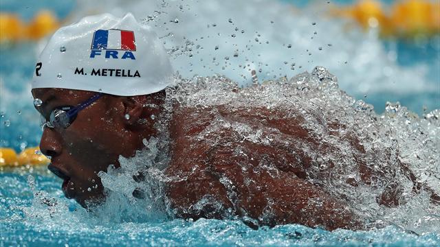 Dressel domine les séries du 100m papillon, Metella 5e temps