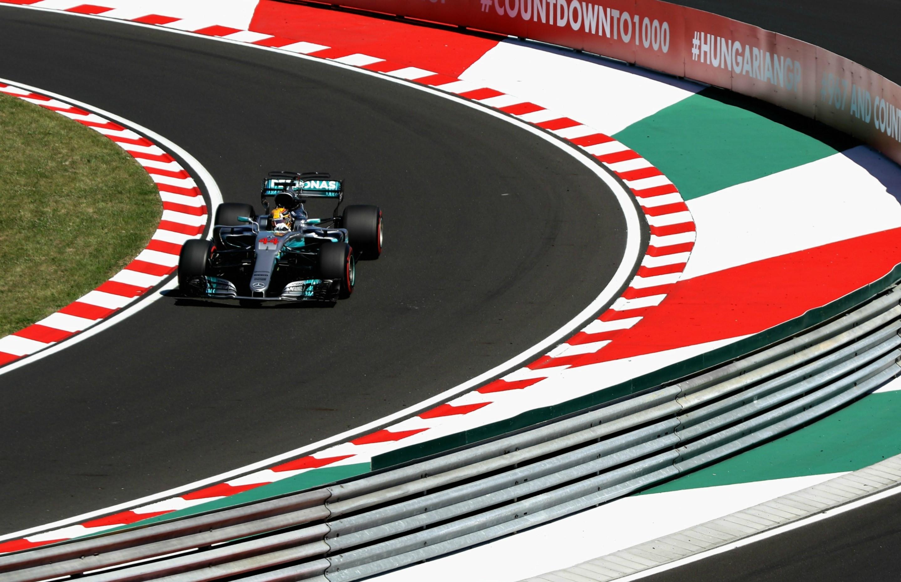 Lewis Hamilton (Mercedes) au Grand Prix de Hongrie 2017