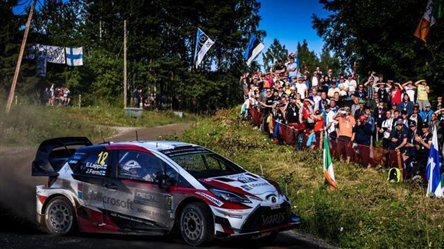 Lappi lidera el triplete provisional de Finlandia en su rally