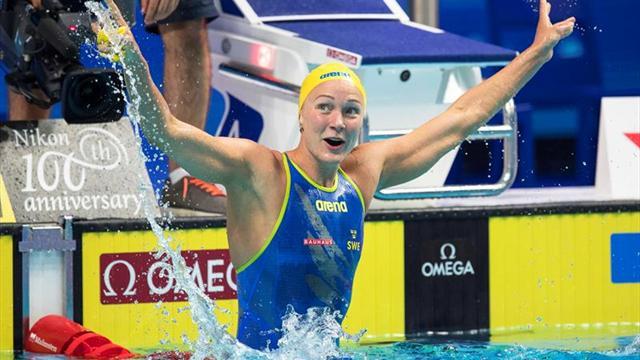 La sueca Sjöstrom, récord mundial de los 50 libre (23.67)